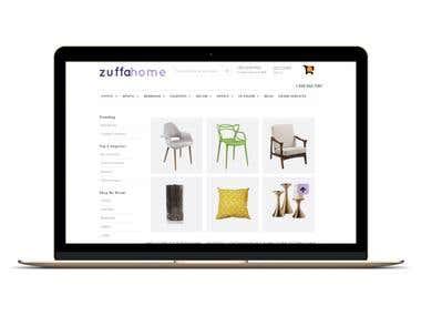 E-Commerce Furniture Store