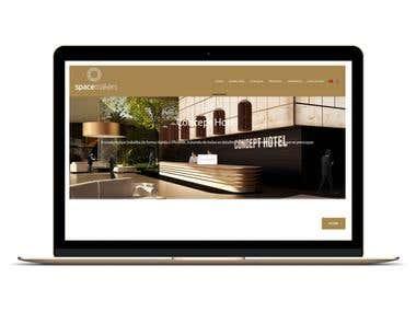 Interior Decor Website Development
