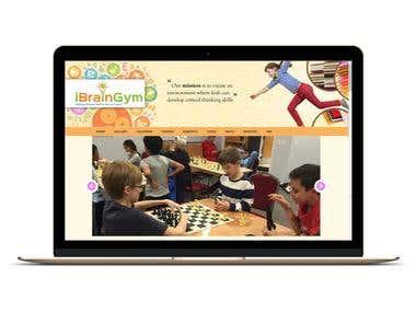 Website Developement For Advanced Thinking Skills For Kids