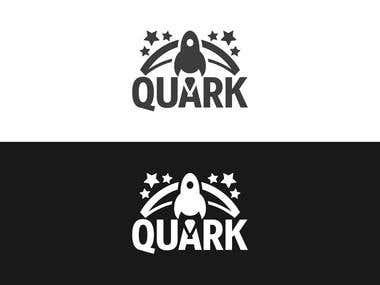 "Logo for clothing brand ""Quark"""
