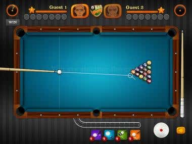 8 Ball Pool Game(Unity 3D)