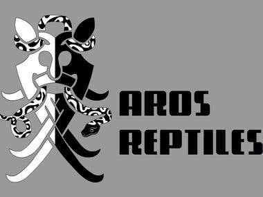 AROS Reptiles logo (2017)