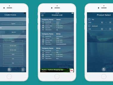 Invoice Maker: iPhone & Android Application