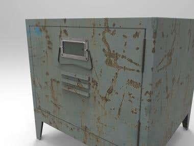 Bedside Locker Table
