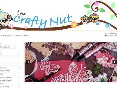 The Crafty Nut: eCommerce