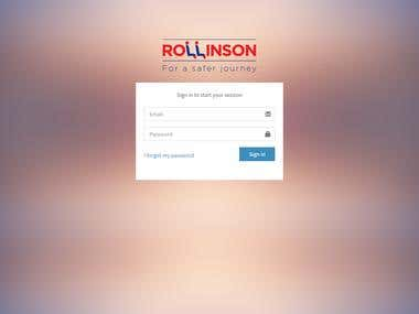 Rollinson Taxi ,School Bus , Tour bus App with Android & IP