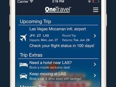 OneTravel Flights, Hotels & Cars