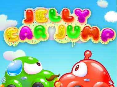 Mobile game for Android Jelly Car Jump