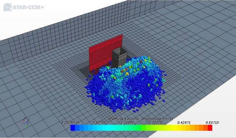 STAR-CCM+ simulation set up with DEM particles | Freelancer