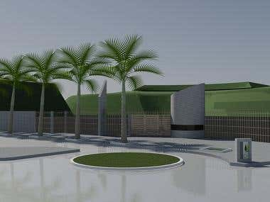Colinas de Carrizal Botanical Garden Entrance - Venezuela