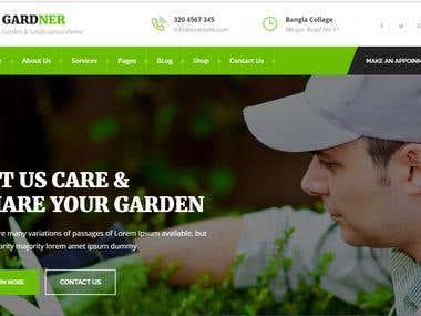 GARDNER - Garden & Landscaping HTML Template