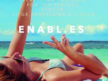 "Flyer for ""enabl.es"""