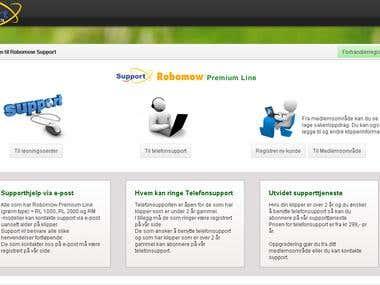 Yii based advanced CRM portal