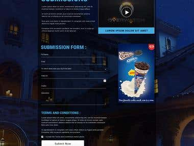 Gaming Site PSD to HTML5