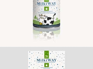 Milk formula packaging