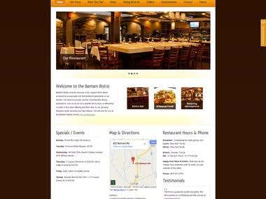WORDPRESS - Restaurant Website