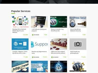 CreateWebsite - Buy and Sell Web Portal