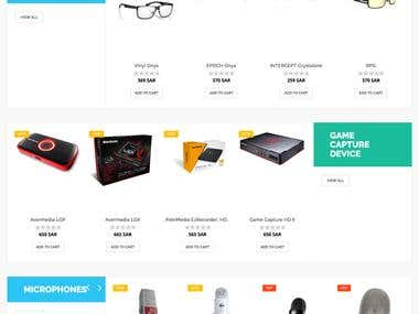 eCommerce Opencart Project