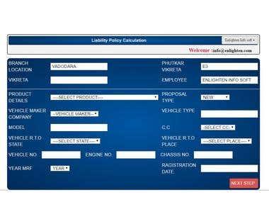 Online Insurance System
