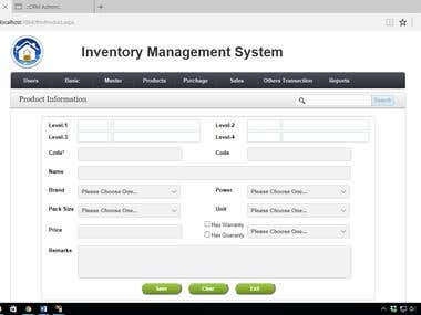 Inventory and Accounting System