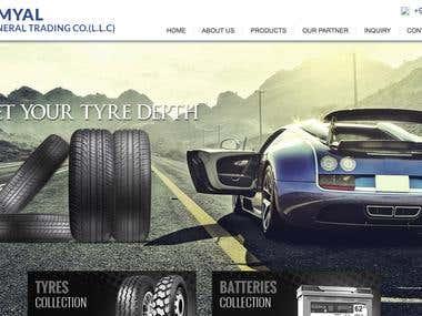 Build website for Amyal Dubai group