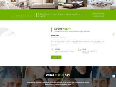Dreamland Property and Real Estate HTML5 Template