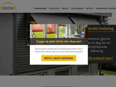 www.sesonsmarkiser.no