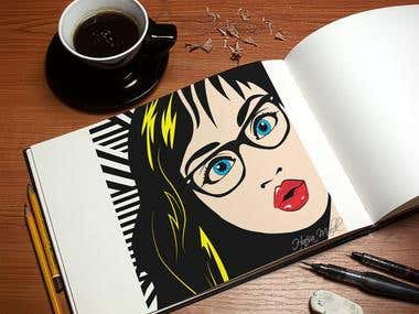 Drawing Pop Art