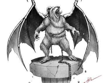 Gargoyle Bear