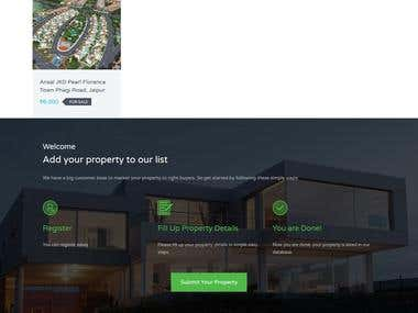 Property Rental -Wordpress Based Website