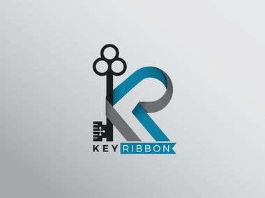 KR Logog for a online store.