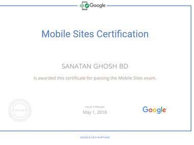 Mobile Sites certified