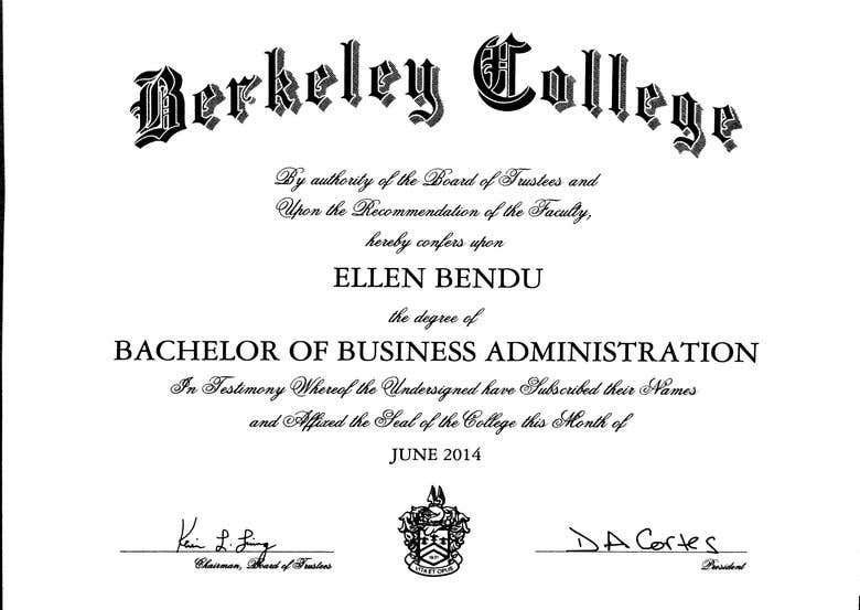 Bachelor S Degree Freelancer