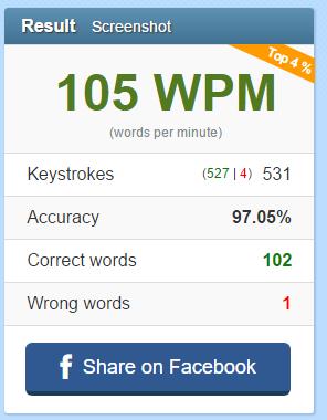 WPM Test