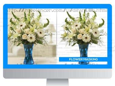FLOWER MASKING-BACKGROUND REMOVE