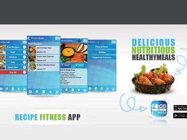 Receipt Fitness App