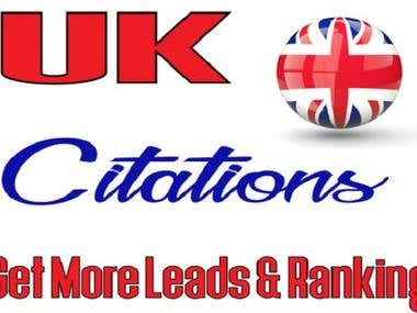 I Will 100 UK Citation For Your Business For Just 25$