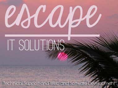 Escape Web Background
