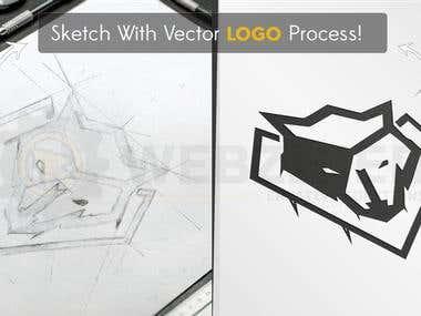 vFox Estate Logo Design