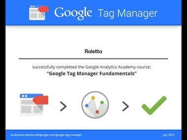 Google Tag Mnager