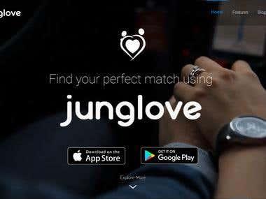 Junglove Website