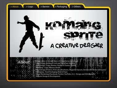 About Komang Sprite