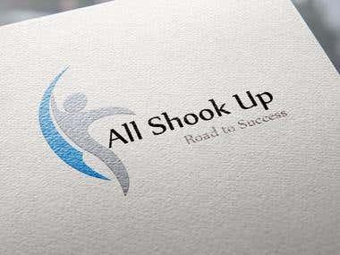 All Shook Up- Redesign Logo