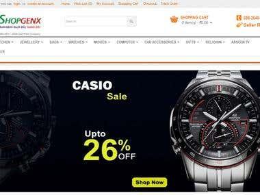 Shopgenx.com - opencart based online store