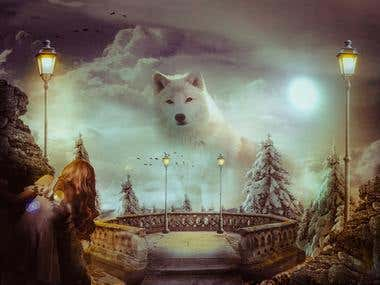 Photoshop Manipulation - The Winter Guardiam