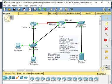 Packet Tracer: VLANS - ACL & Protocols