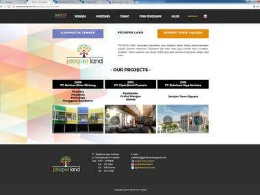 Jember Town Square Website