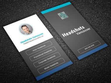 Vartical Business Card