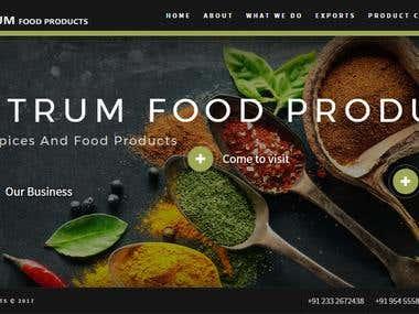 Spectrum Food Products Portfolio