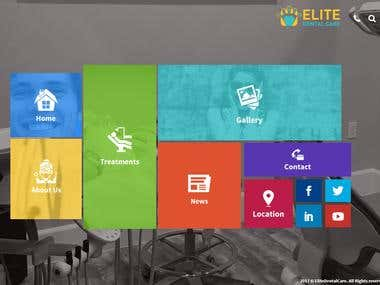 Web design and Development - Elite Dental Care